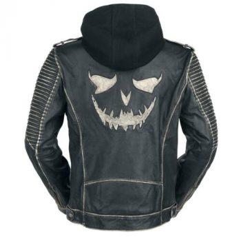 Suicide Squad 'The Killing Jacket' Joker Black Leather Jacket