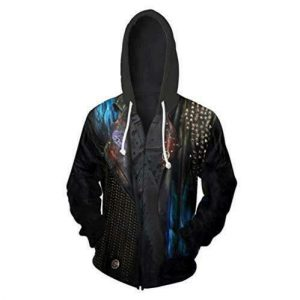SHKEHO-kehong Hades Hoodie Costume Jacket, Descendants