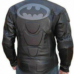 Batman Leather Motorcycle Armored Jacket