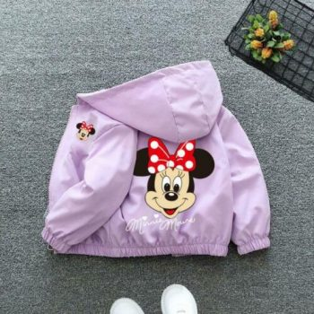 Spring Autumn Children's Cartoon Mickey Jacket
