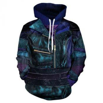 Descendants 3 Hoodies 3D Print Sweatshirts Cosplay Hooded