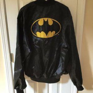 Vintage Batman Bomber Jacket Men's XL Comics