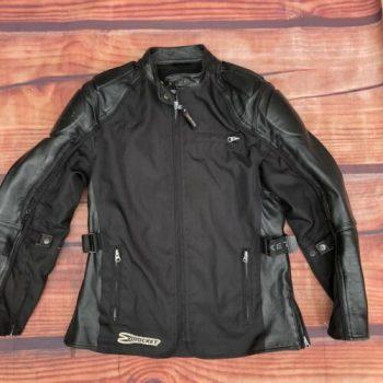 Joe Rocket Men's Black Mesh Armored Protective Motorcycle Touring Jacket