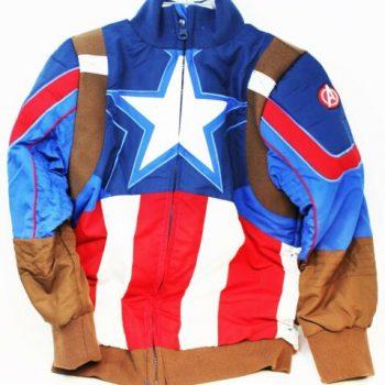 Disney Parks Marvel Captain America Bomber Jacket