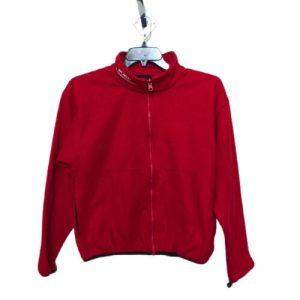 Birds of Prey Men's Medium Red Fleece Mid Layer Jacket