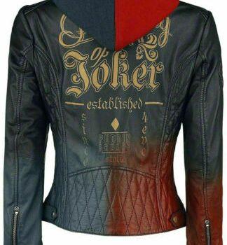 Birds Of Prey Leather Jacket