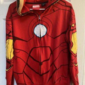 Spider-Man Marvel Large Zip Up Hooded Jacket