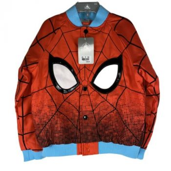 New DISNEY Store Spider-Man Varsity Jacket for Boys