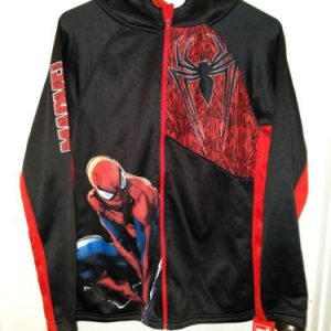 Marvel Spider-Man Zip Up Jacket Teen's/ Keds
