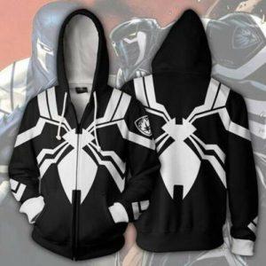 Venom Spider-Man Hoodie Superhero Hooded