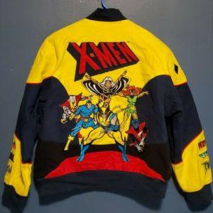 X-Men Jacket Vintage Marvel Comics