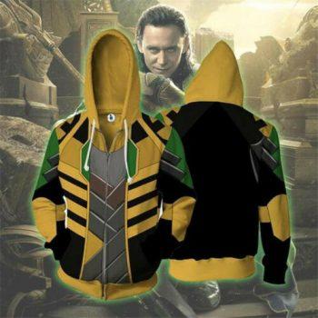 The Avengers Cosplay Zip Hoodie Casual Sweatshirt Coat Jacket