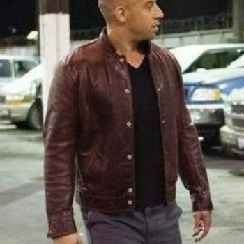 Fast and Furious 6 Dominic Toretto Brown Stylish Leather Jacket