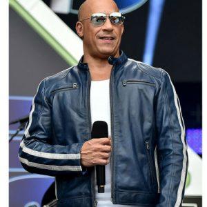 Fast and Furious 9 Vin Diesel Genuine Leather Biker