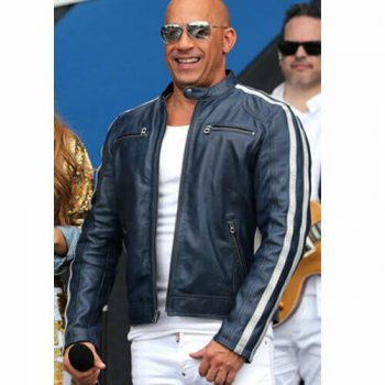 Fast Saga 9 Vin Diesel Leather Jacket Fast and Furious