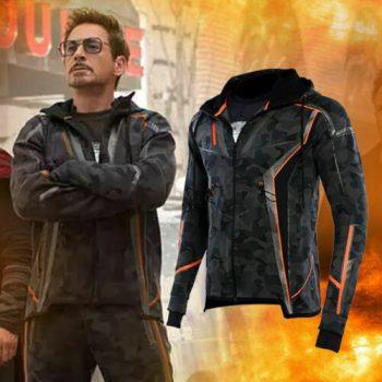 Avengers Infinity War Iron Man Tony Stark Cosplay Jacket