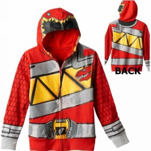 Power Rangers Red Dino Charge Zip-Up Hoodie