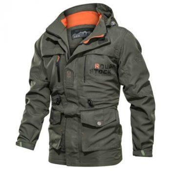 Mens Military Work Tactical Cargo Combat Jackets